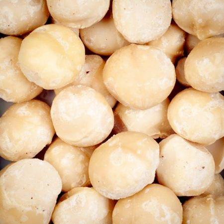 Nuez macadamia cruda