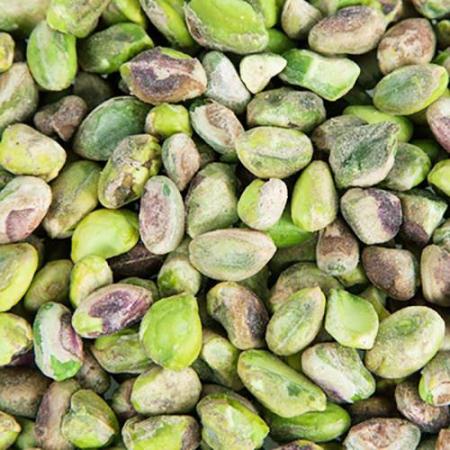 pistachos crudos y pelados