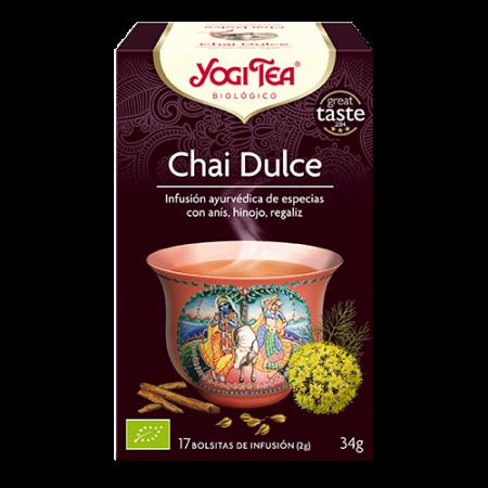 chai dulce yogi tea