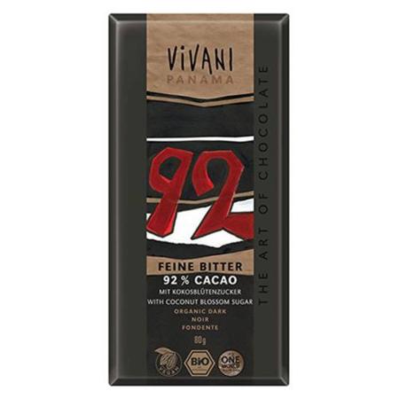 chocolate negro 92%