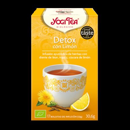 detox con limon yogi tea