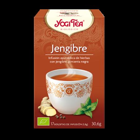 jengibre yogi tea