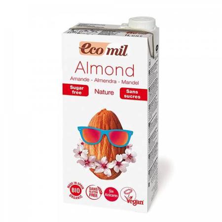 leche de almendra ecomil