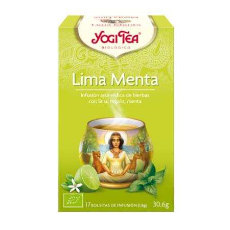 yogi tea lima y menta