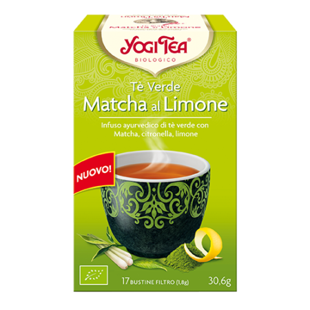 yogi tea macha limon