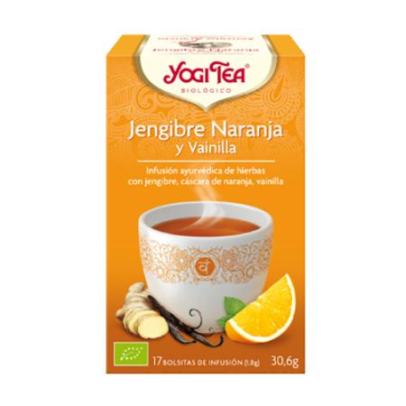 yogitea jengibre y naranja