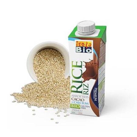 leche arroz con chocolate