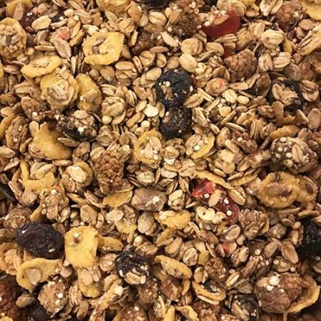 Crunchy de frutas del bosque