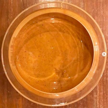 Crema de avellanas tostadas