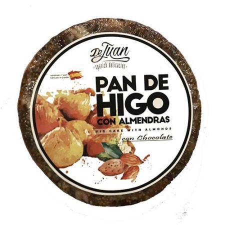 Pan de higo con almendras
